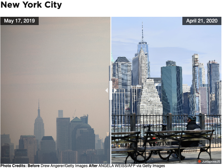 Air quality changes NYC